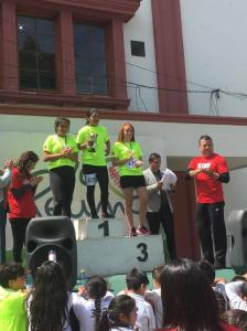 Niñas Participantes premiadas como ganadoras en su categoría.